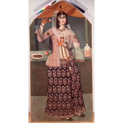 Фотообои Woman Holding A Rose   арт.18287