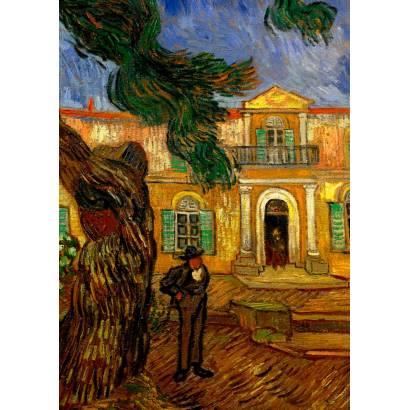Фотообои Винсент Ван Гог - Отель в Сан-Реми | арт.18320