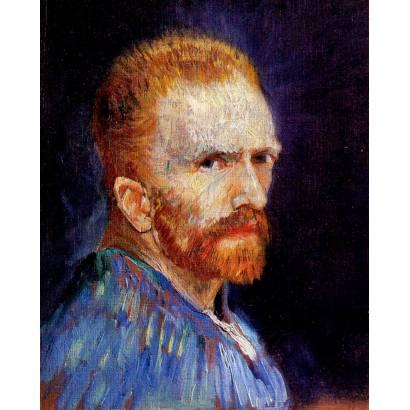 Фотообои Винсент Ван Гог - Автопортрет 1887 | арт.18321