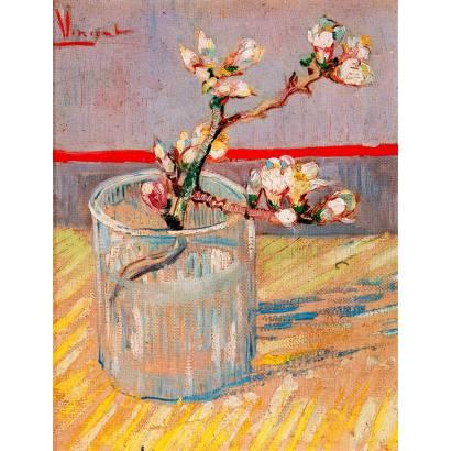 Фотообои Винсент Ван Гог - Цветущая ветка миндаля | арт.18325