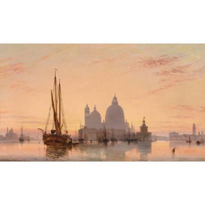 "Фотообои Эдвард Уильям Кук ""Венеция"" | арт.18331"
