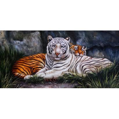Фотообои Тигры | арт.18340