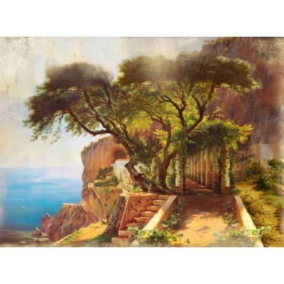 Фотообои Колоннада на побережье | арт.18351