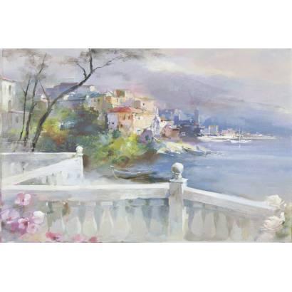 Фотообои Вид с балкона на море | арт.18357