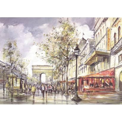 Фотообои Париж | арт.18358