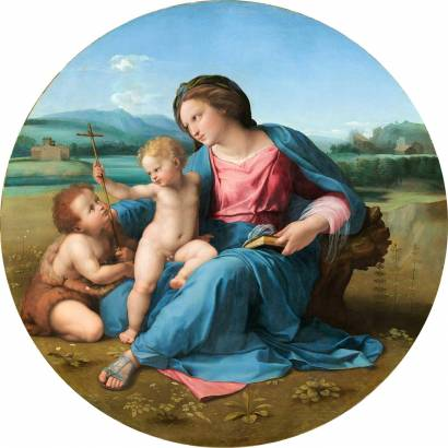 Фотообои Мадонна Альба | арт.1836