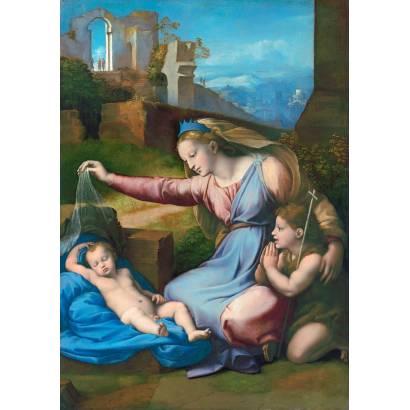 Фотообои Мадонна С Голубой Диадемой | арт.1837