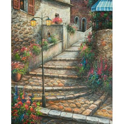 Фотообои Лестница. Живопись | арт.18370