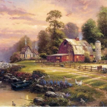 Фотообои Живопись Томаса Кинкейда | арт.18377