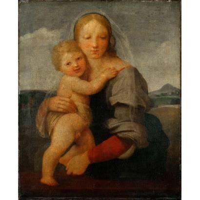 Фотообои Мадонна С Младенцем | арт.1838