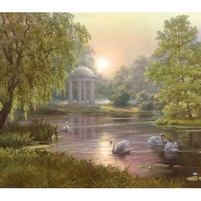 Фотообои Ротонда у пруда | арт.18399