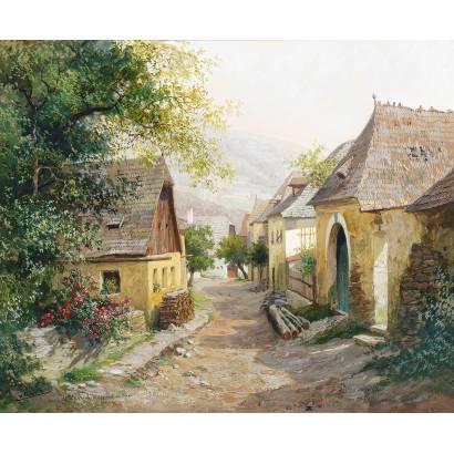 Фотообои Деревенская улочка | арт.18415
