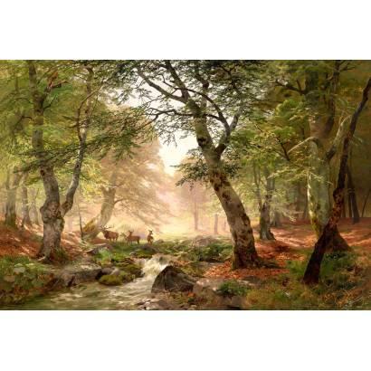 Фотообои Ручей в лесу | арт.18417