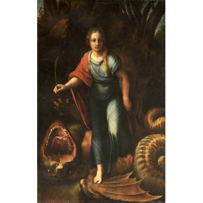 Фотообои Святая Маргарита | арт.1845