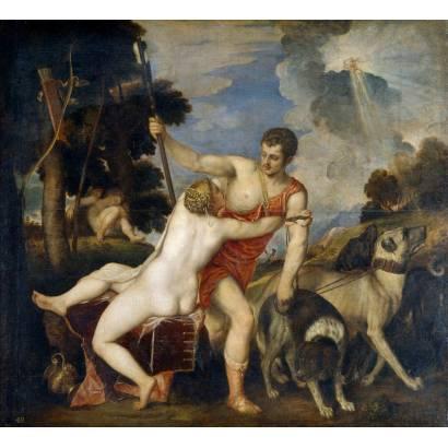 Фотообои Венера И Адонис | арт.1855
