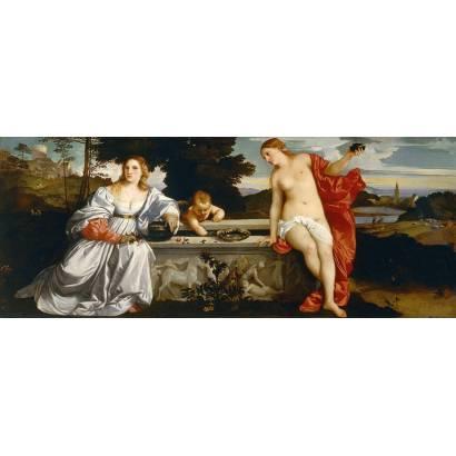 Фотообои Любовь Небесная И Земная | арт.1869
