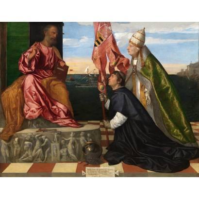Фотообои Папа Александр Vi Представляет Якопо Пезаро Святому Петру | арт.1871