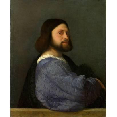Фотообои Портрет Мужчины В Стёганой Одежде | арт.1884