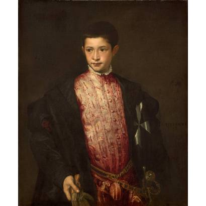Фотообои Портрет Рануччио Фарнезе | арт.1885