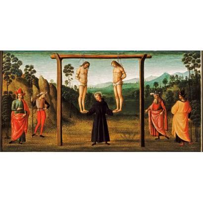 Фотообои Святой Иероним, Поддерживающий Двух Казнённых | арт.189