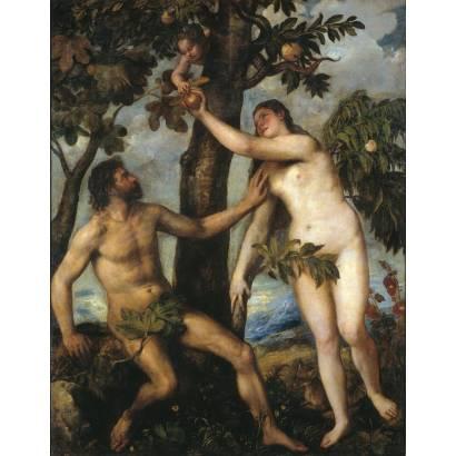 Фотообои Адам И Ева | арт.1899