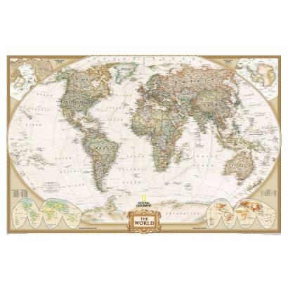 Фотообои Карта мира | арт.1925