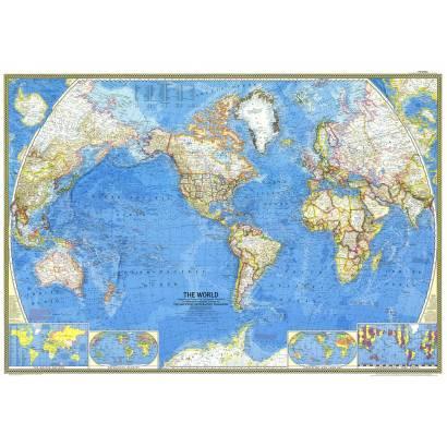 Фотообои Карта мира 1965 | арт.1930