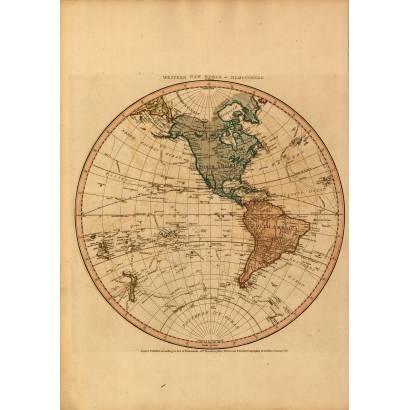 Фотообои Карта 1786 | арт.1940