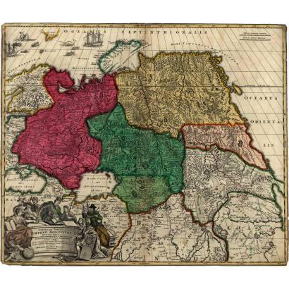Фотообои Московская империя 1704 | арт.1945