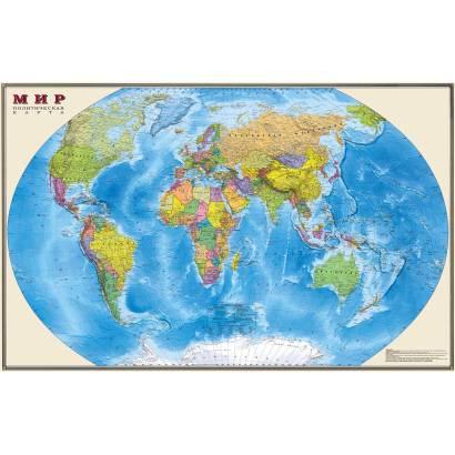 Фотообои Политическая карта мира | арт.1950