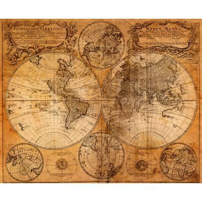 Фотообои Старинная карта | арт.1966