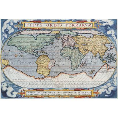 Фотообои Старинная карта мира | арт.1979
