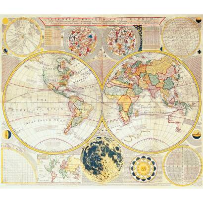 Фотообои Старинная карта | арт.1980
