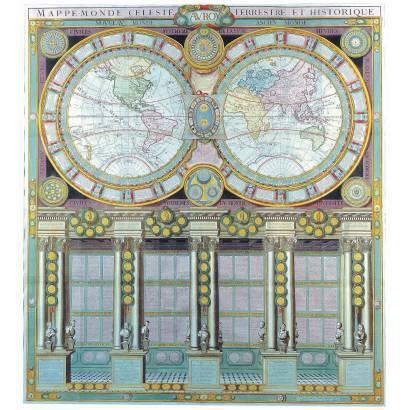 Фотообои Старая карта мира | арт.1983