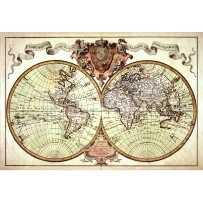 Фотообои Старинная карта | арт.1985