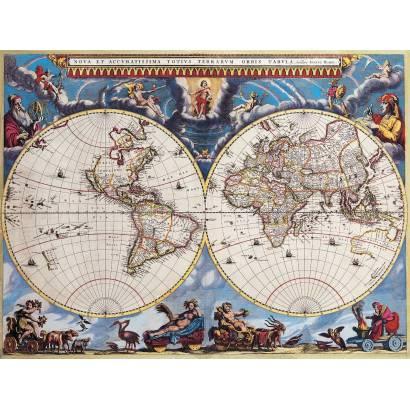 Фотообои Старинная карта мира | арт.1987