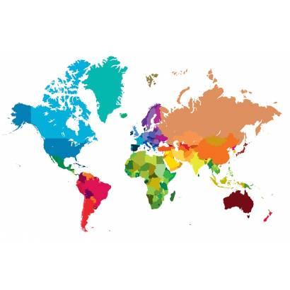 Фотообои Карта мира | арт.1989