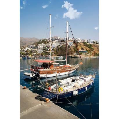 Фотообои Яхты в порту | арт.2113