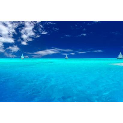 Фотообои Яхты В Море | арт.2118