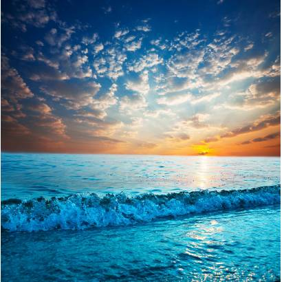 Фотообои Морской Закат | арт.21119