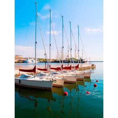 Фотообои Яхты У Причала | арт.21192