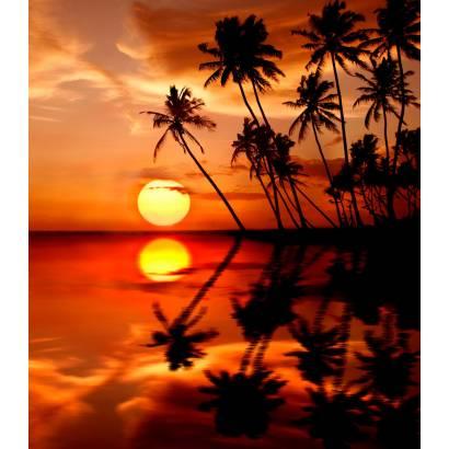 Фотообои Закат на море | арт.21206