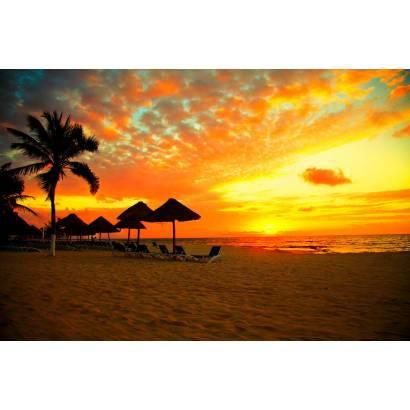 Фотообои Закат на побережье | арт.21207