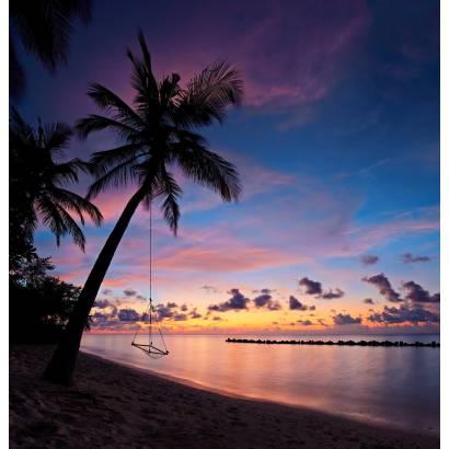 Фотообои Качели на берегу моря | арт.21208