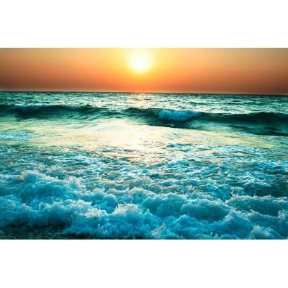 Фотообои Закат на морском побережье | арт.21246