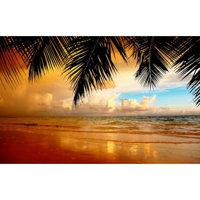 Фотообои Закат на пляже | арт.21250