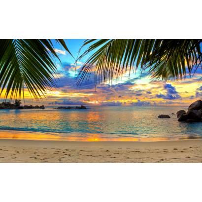 Фотообои Закат на море | арт.21253