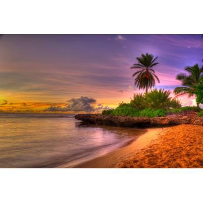 Фотообои Закат на море | арт.21257