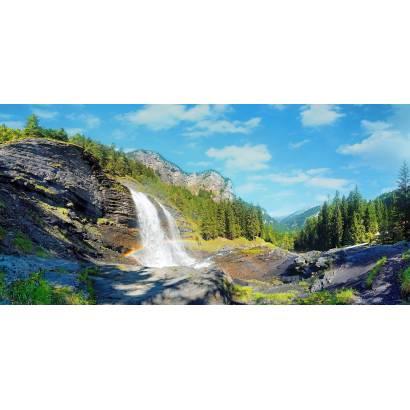 Фотообои Водопад в горах | арт.22101