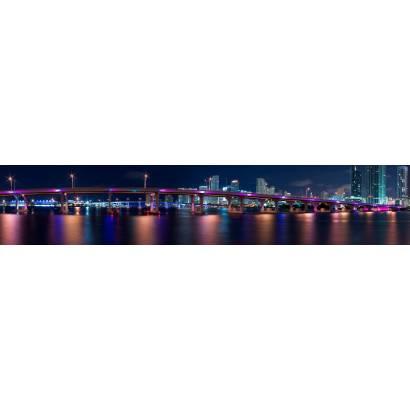 Фотообои ночной Майами - Харбор | арт.2216